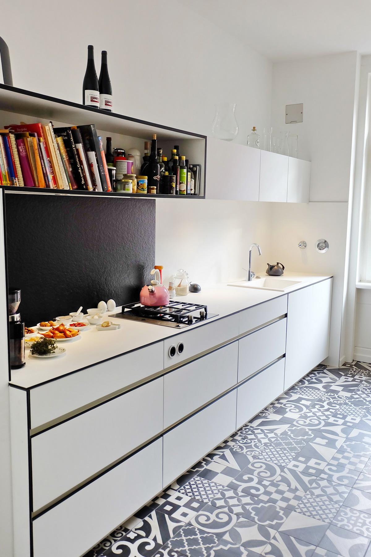 Küche black&white_5