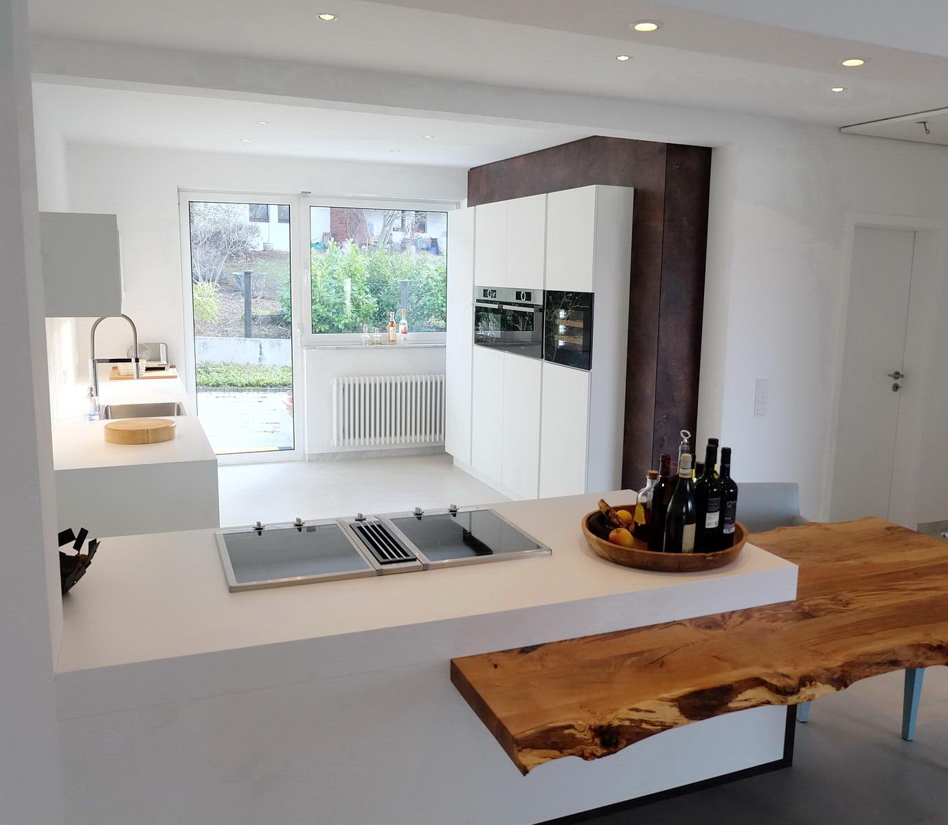 Küche mit Baumkante 2