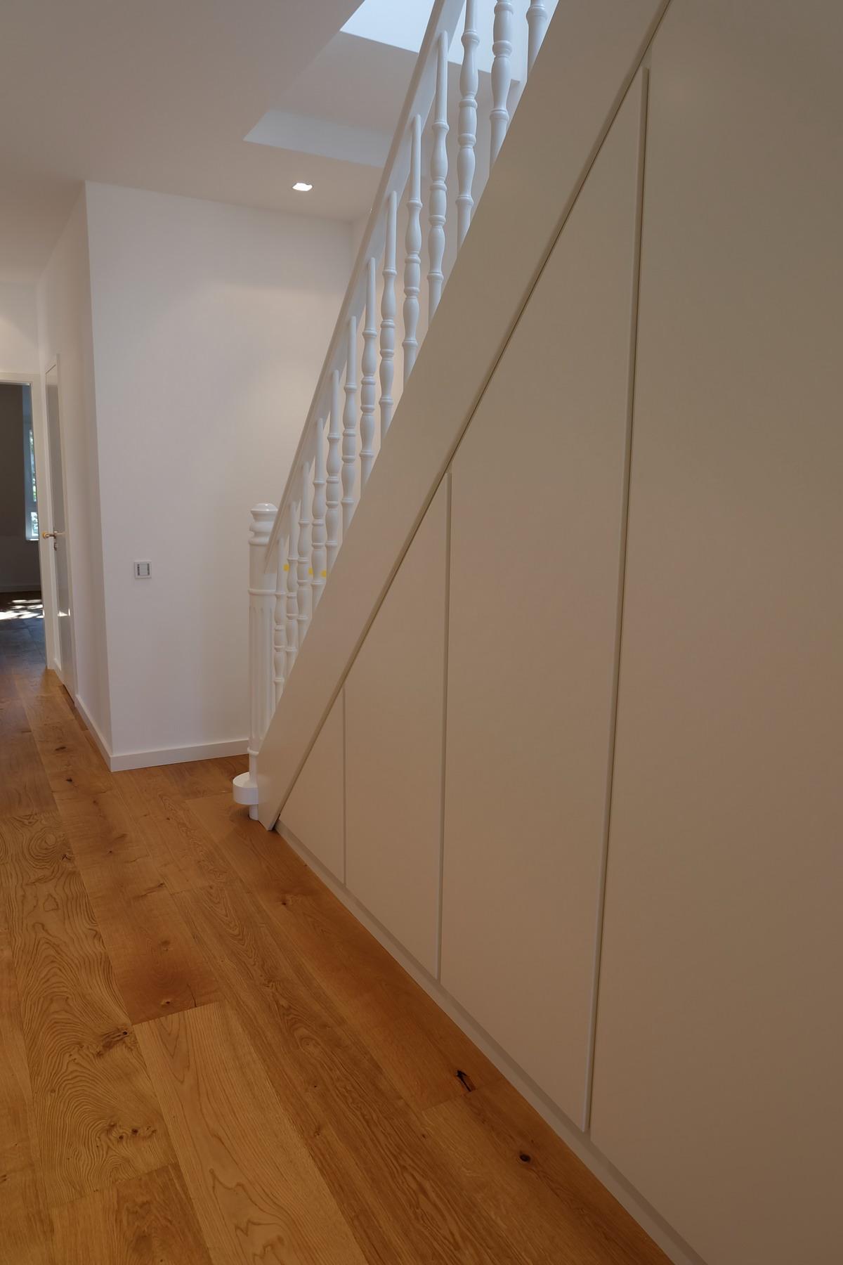 Küche, Boden, Schrank Eiche & Lack 7