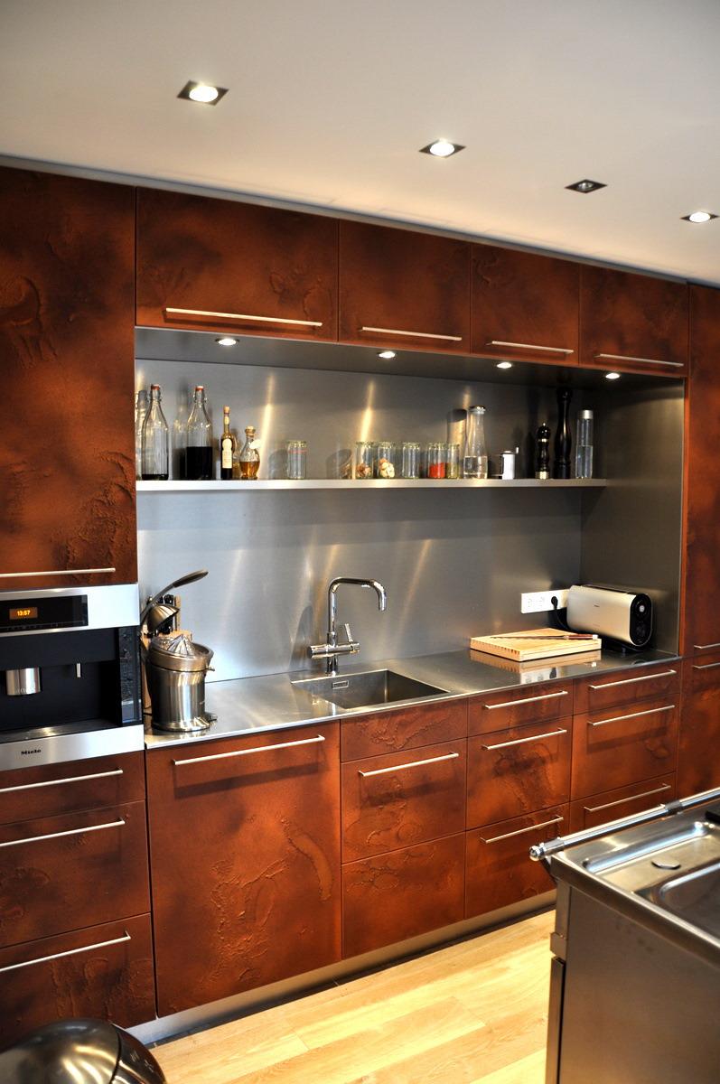 Küche in Rost  Resch Innenausbau