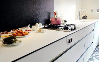 """Küche """"black&white"""""""