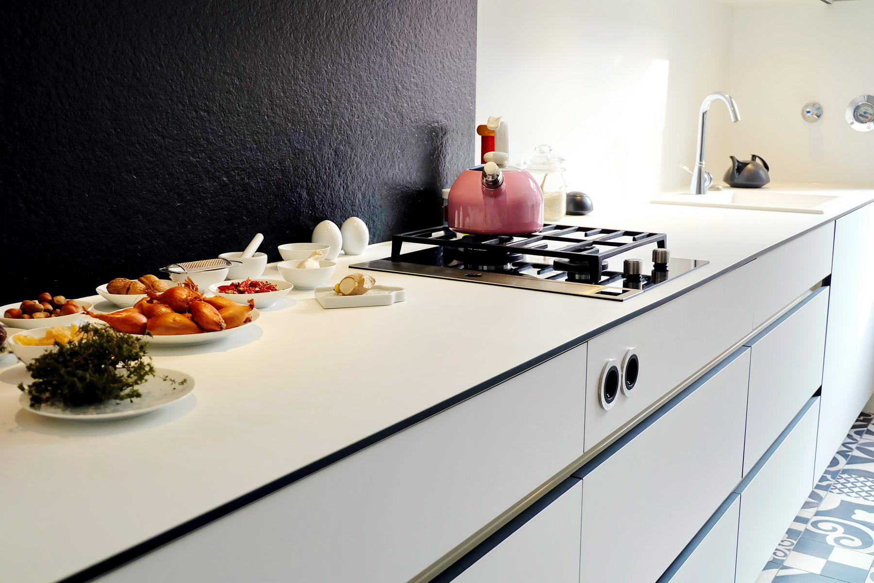 Küche black&white