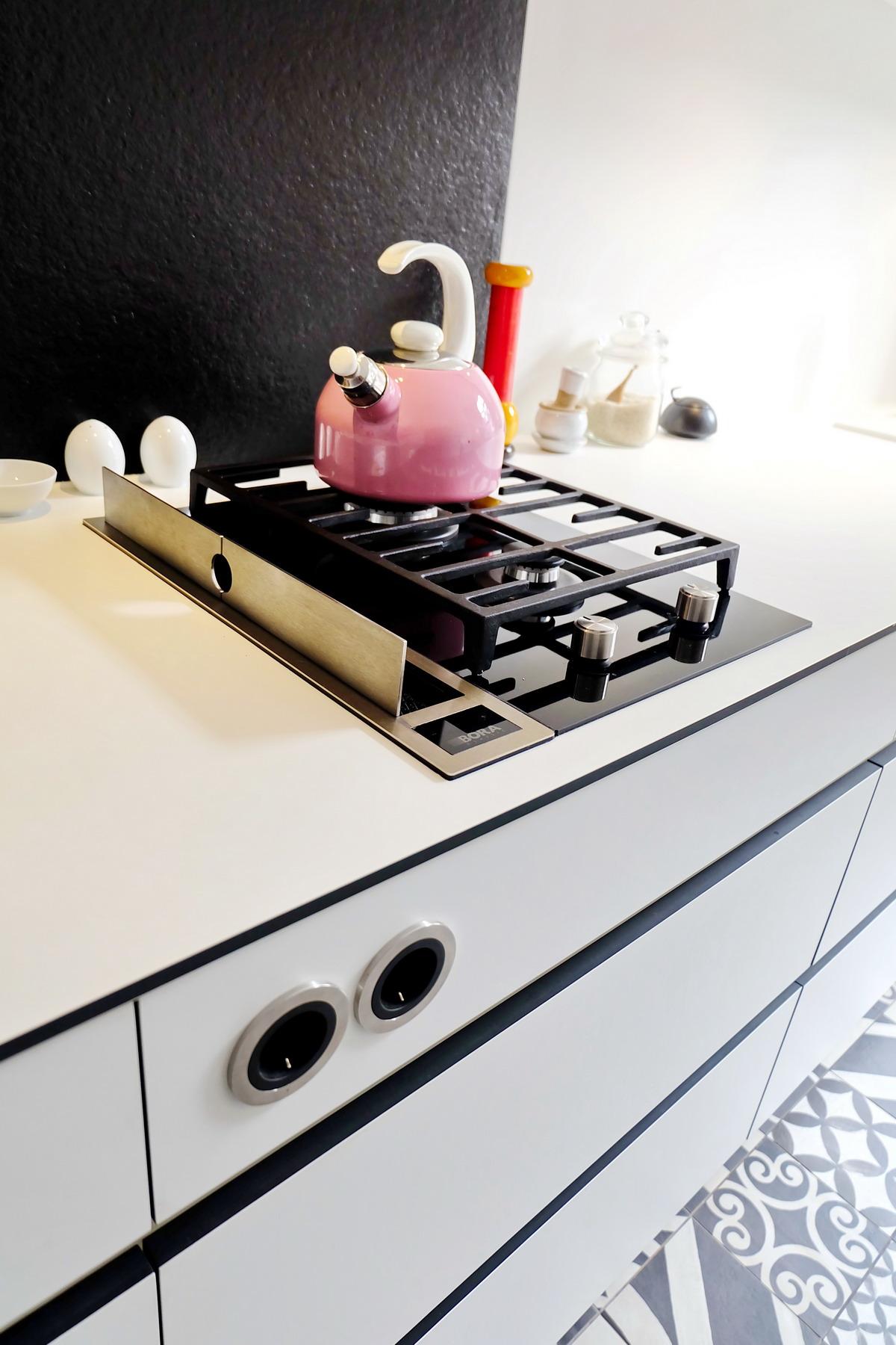 Küche black&white_3