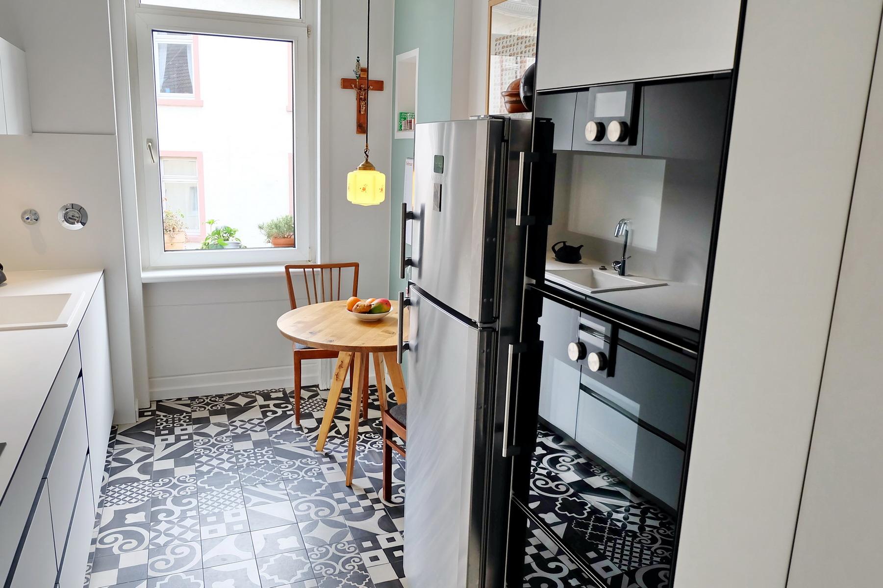 Küche black&white_4