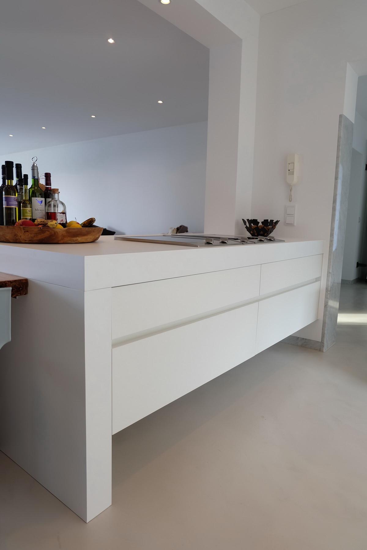 Küche mit Baumkante 4