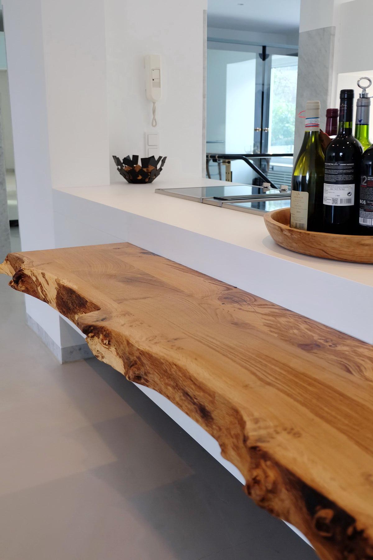 Küche mit Baumkante 5